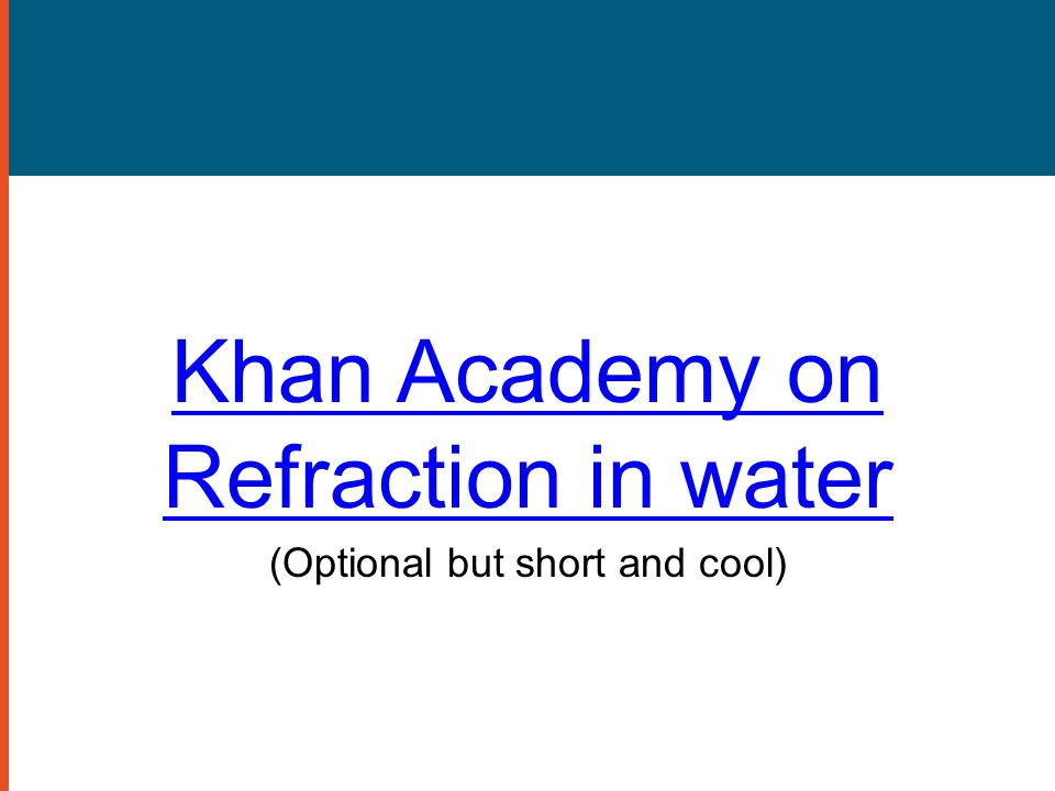 Reflection and Refraction of Light - ppt download