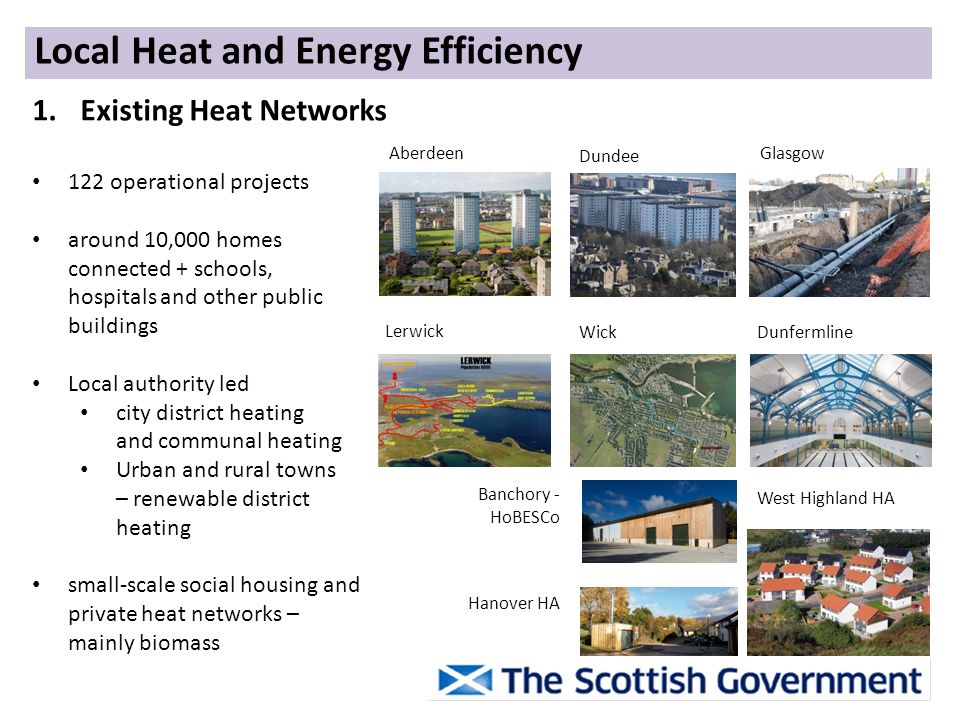Local Heat and Energy Efficiency