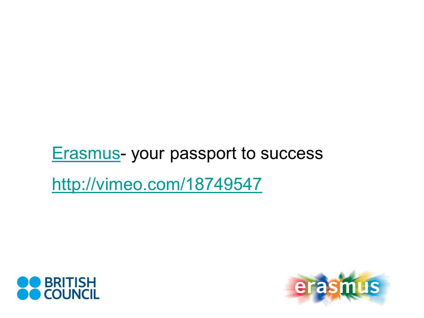 Erasmus- your passport to success