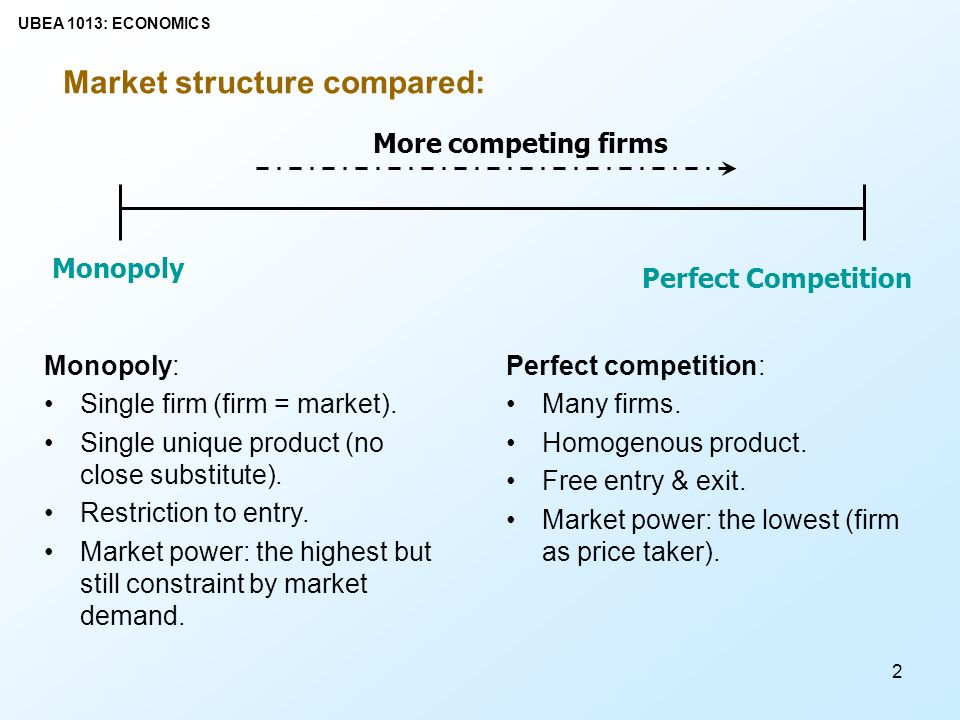 compare and contrast perfect competition and monopolistic competition