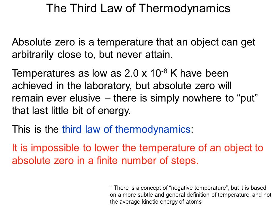 The Laws Of Thermodynamics Ppt Video Online Download
