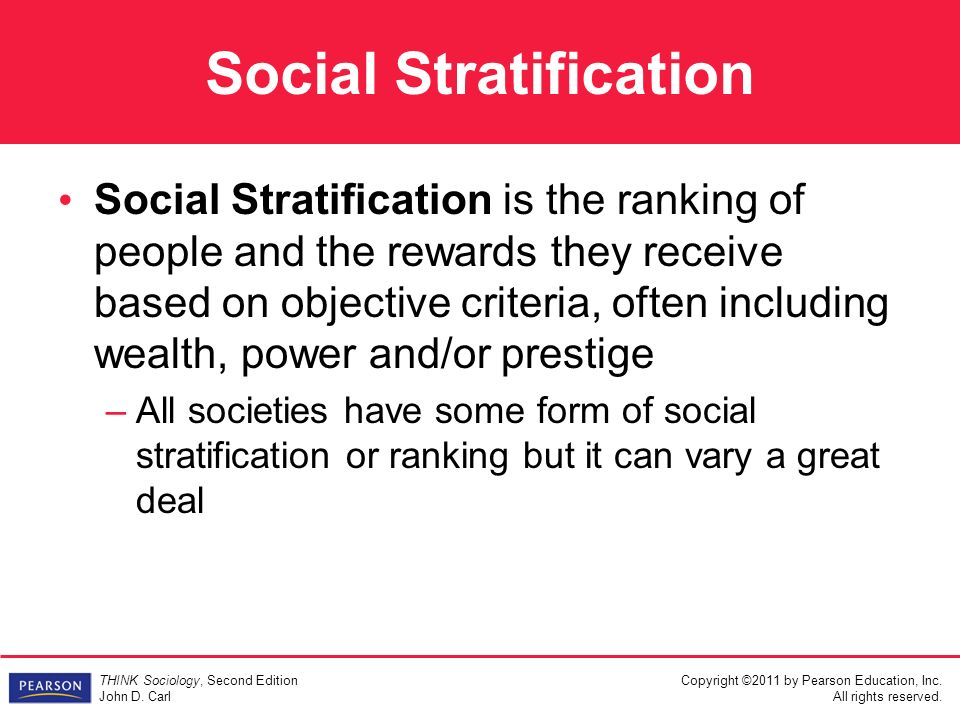 7 Social Class In The United States: Stratification in a