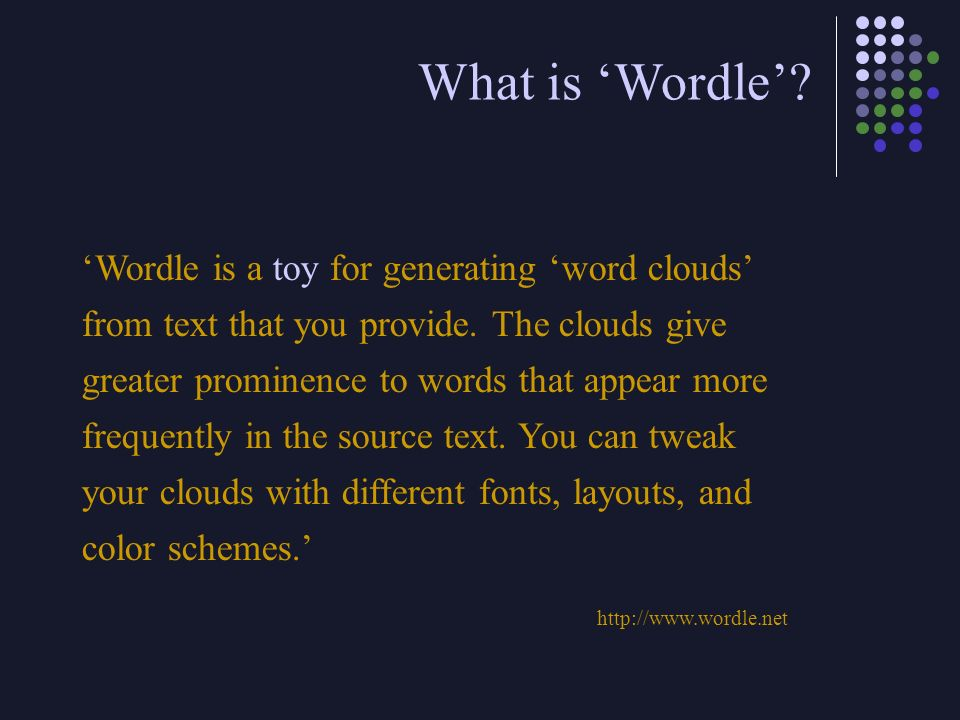 What is 'Wordle'