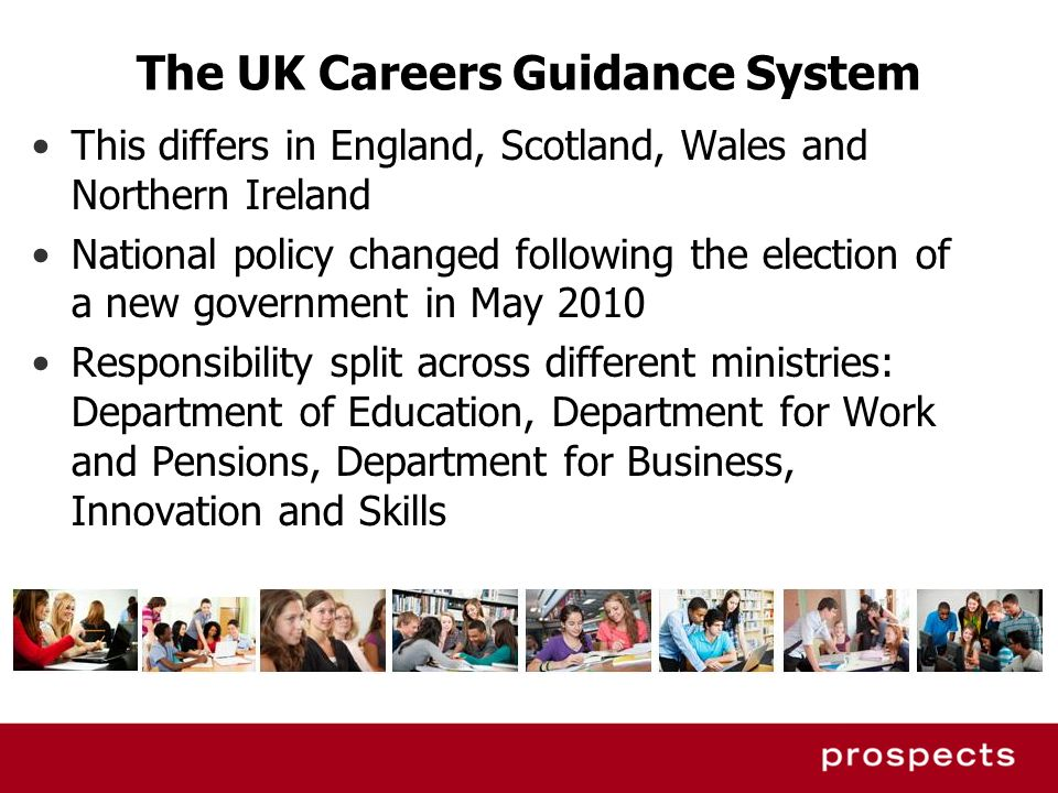 The UK Careers Guidance System