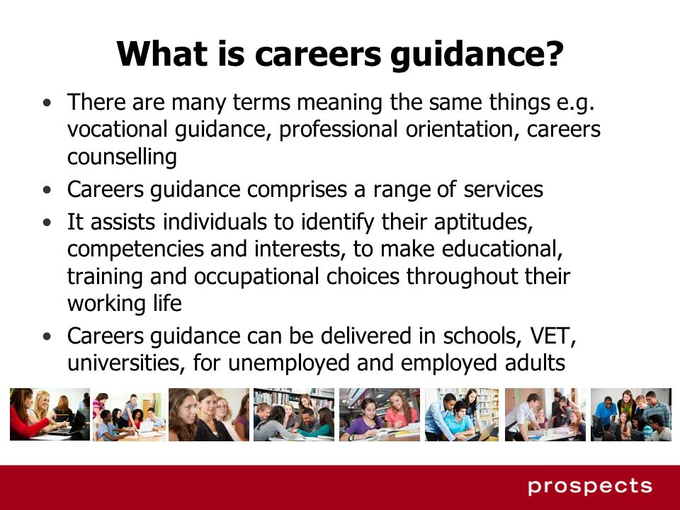 What is careers guidance