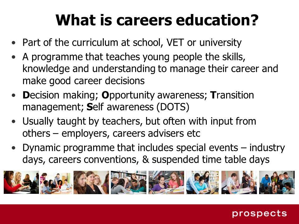 What is careers education