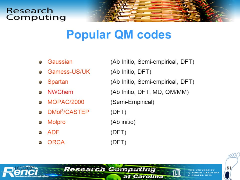 Introduction to Computational Chemistry - ppt download
