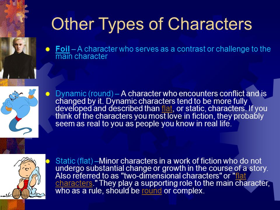 Other Types of Characters