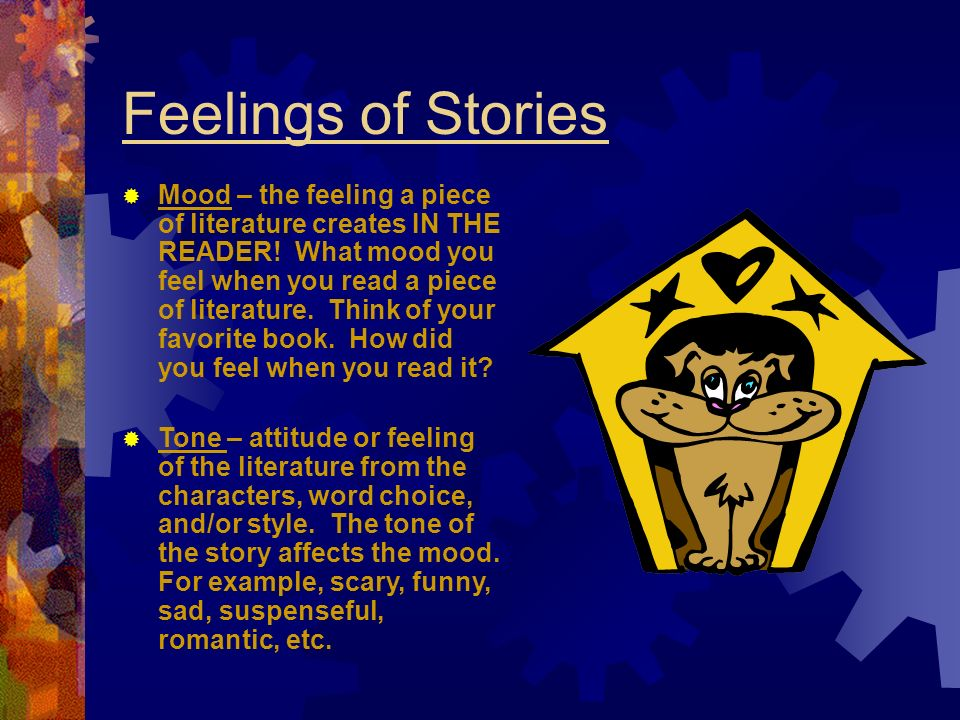 Feelings of Stories
