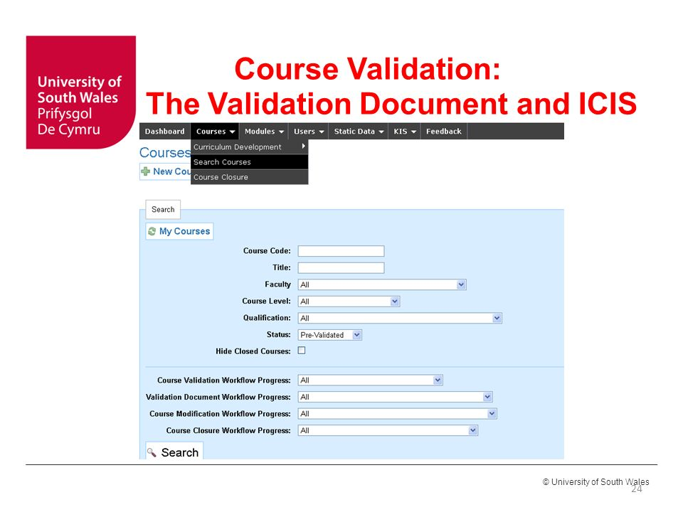 Course Approval and Course Review & Revalidation - ppt video