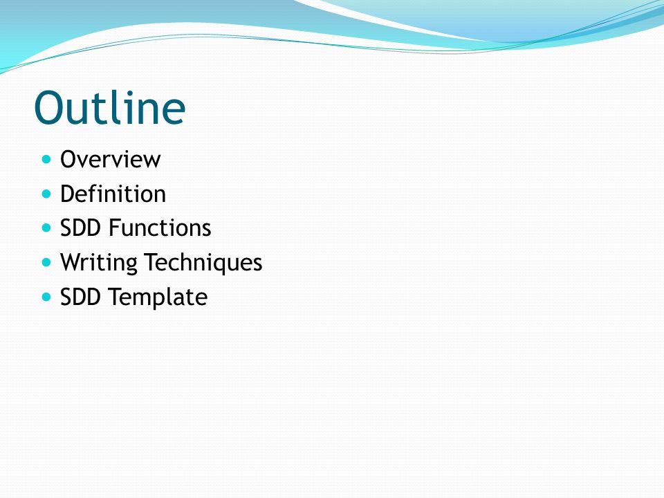 SOFTWARE DESIGN DOCUMENT SDD Ppt Video Online Download - Software design document template