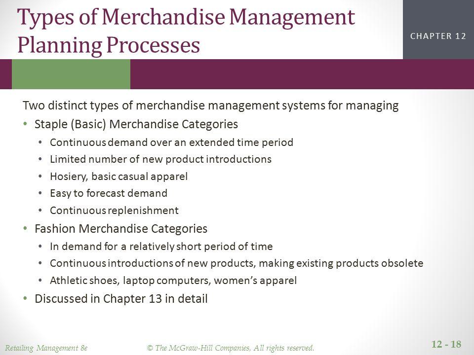 8d15b5d0d64a6 Managing the Merchandise Planning Process - ppt video online download