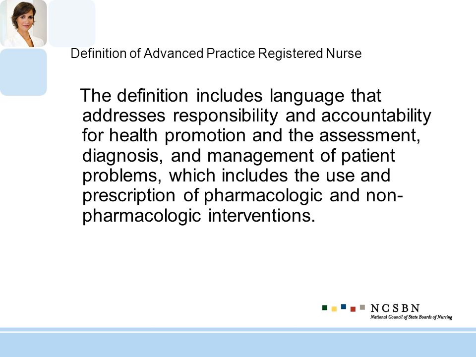 Definition of Advanced Practice Registered Nurse