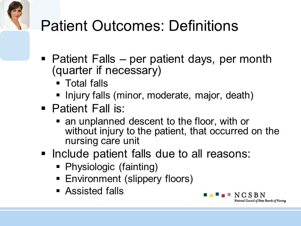 Patient Outcomes: Definitions