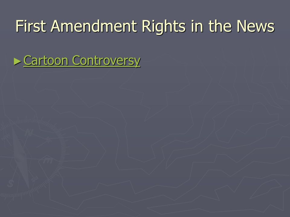 First Amendment Rights in the News