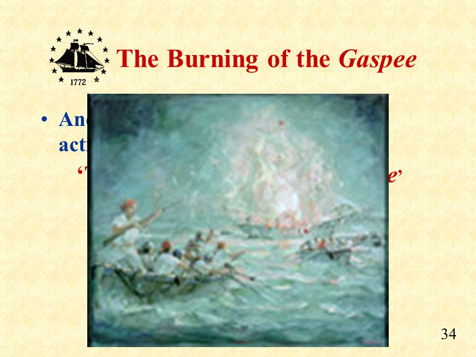 'Those That Burned the Gaspee'