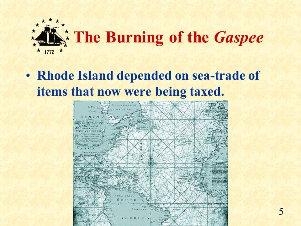Rhode Island depended on sea-trade of items that now were being taxed.