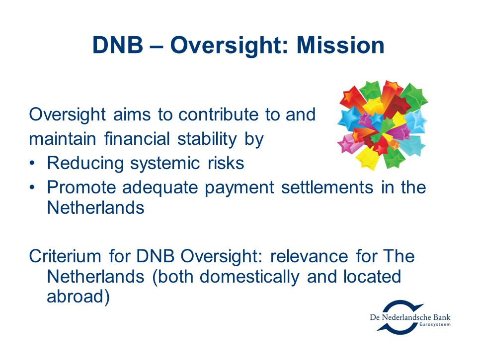 DNB – Oversight: Mission
