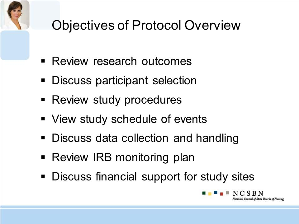 Objectives of Protocol Overview