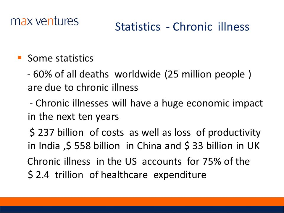 Statistics - Chronic illness