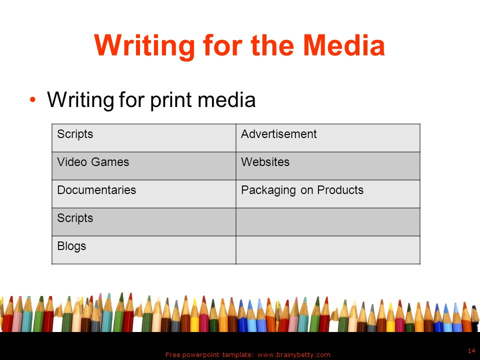 Types of writing mrs dotson ppt download 14 free powerpoint toneelgroepblik Choice Image