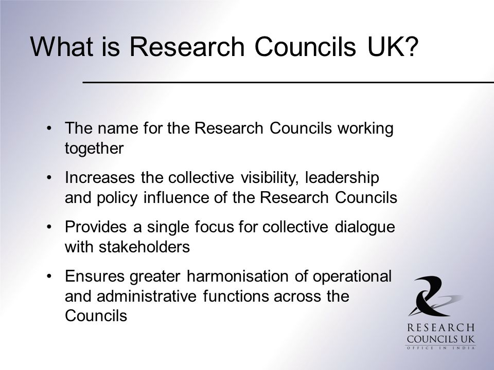 What is Research Councils UK