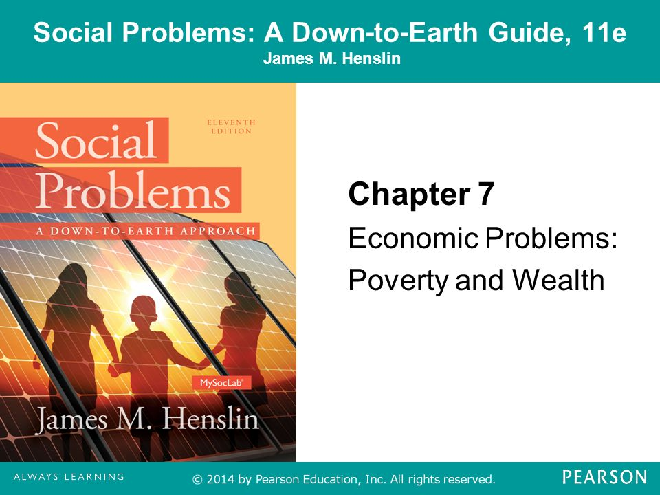 Social Problems A Down To Earth Guide 11e James M Henslin Ppt