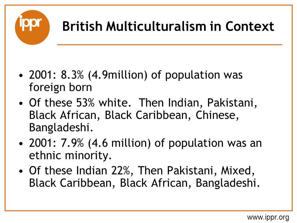 British Multiculturalism in Context