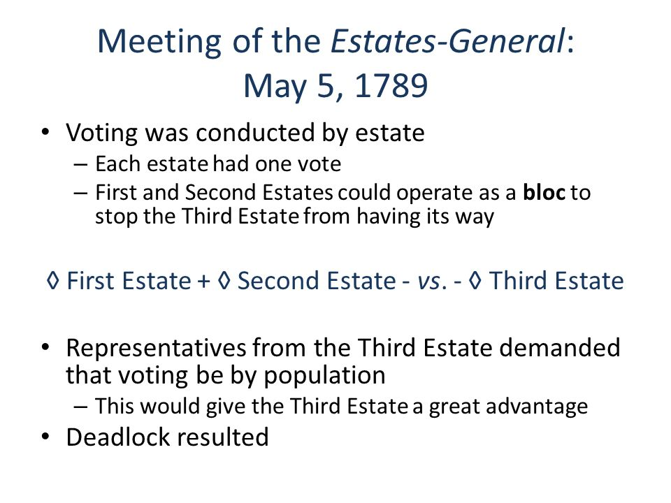 Causes Of The French Revolution Ppt Video Online Download. Meeting Of The Estatesgeneral May 5 1789. Wiring. 1789 Estates General Diagram At Scoala.co