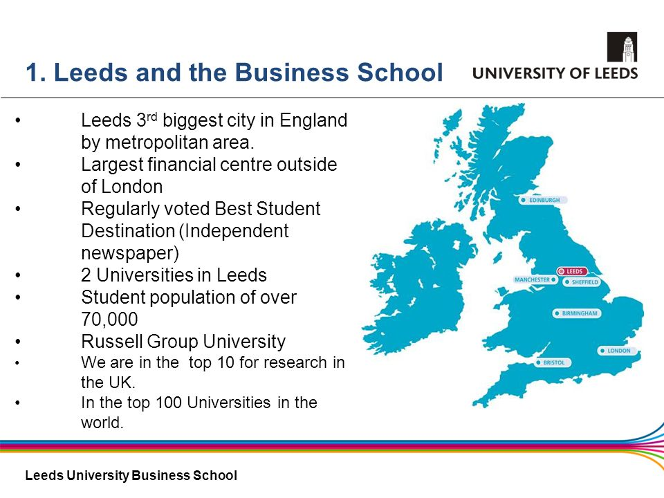 1. Leeds and the Business School