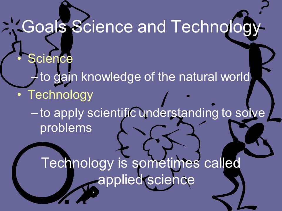 Goals Science and Technology