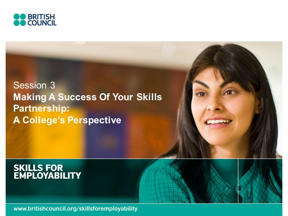 Making A Success Of Your Skills Partnership: A College's Perspective