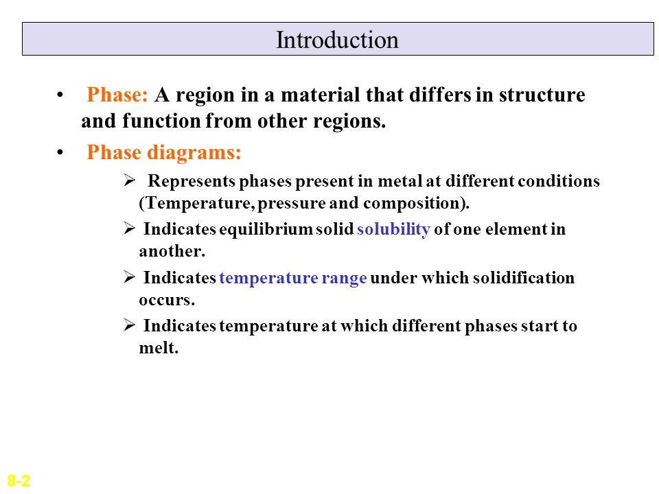 Lecture 9 phase diagrams ppt video online download introduction phase a region in a material that differs in structure and function from other ccuart