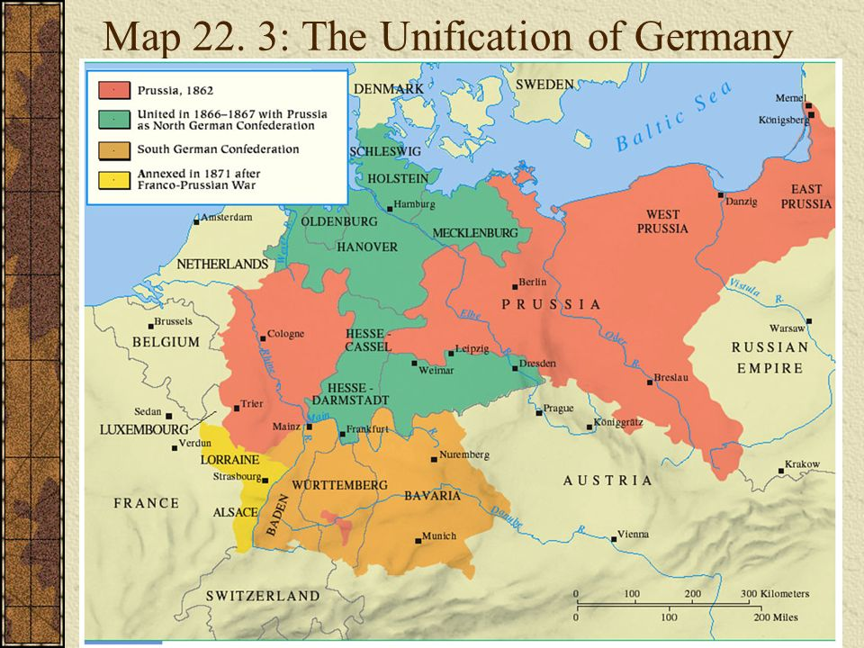 Map Of Germany Before Unification.Carte De Europe Ppt Download
