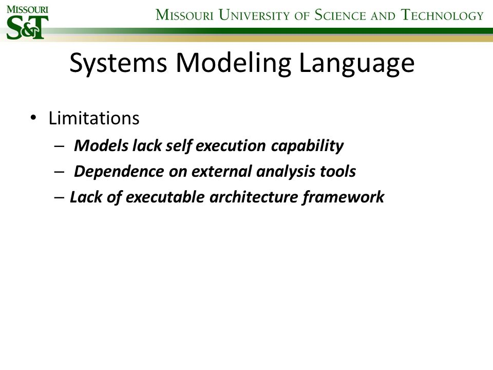 Systems Modeling Language