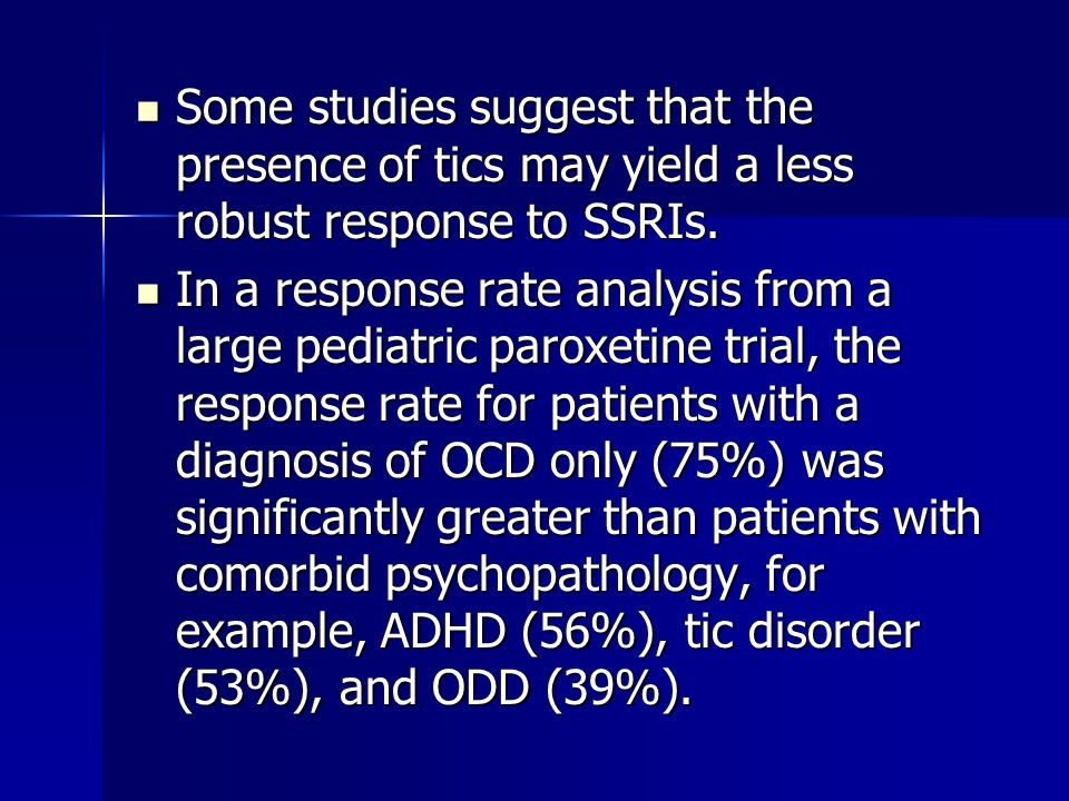 Treatment of Children and Adolescents With Tic Disorders