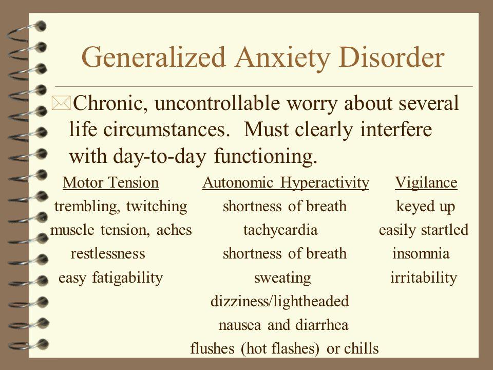 generalized anxiety disorder dsm - 960×720