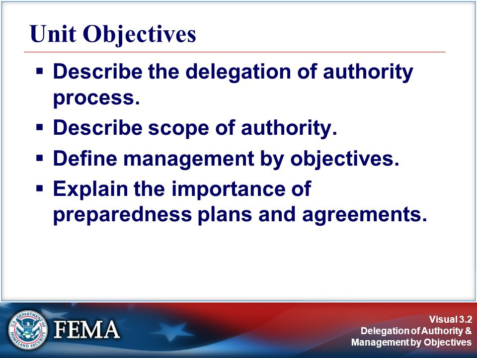 Delegation of Authority & Management by Objectives - ppt download
