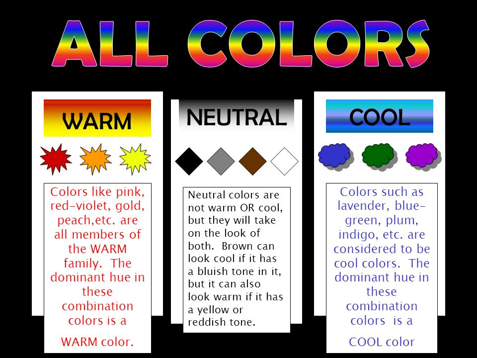 All Colors Warm Neutral Cool