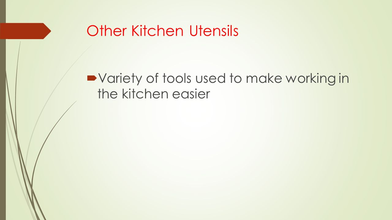 Other Kitchen Utensils