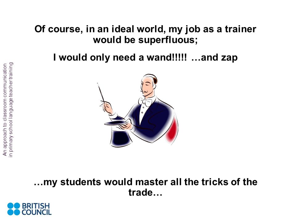 I would only need a wand!!!!! …and zap