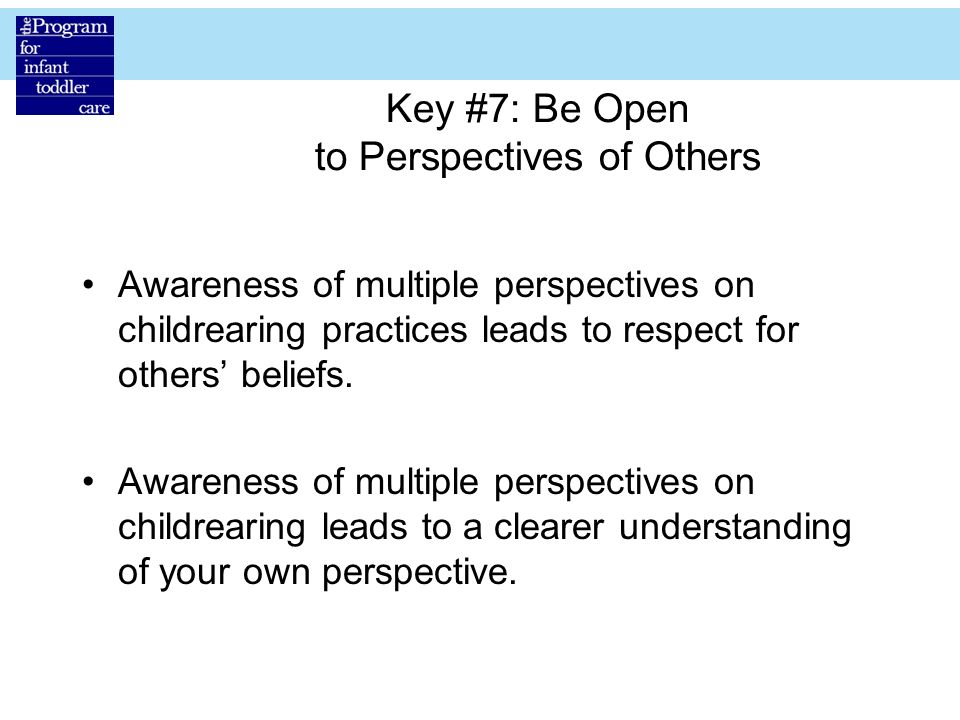 Key #7: Be Open to Perspectives of Others