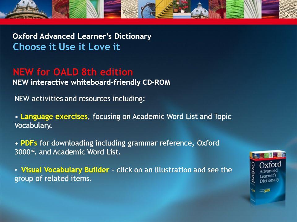 Oald free download.