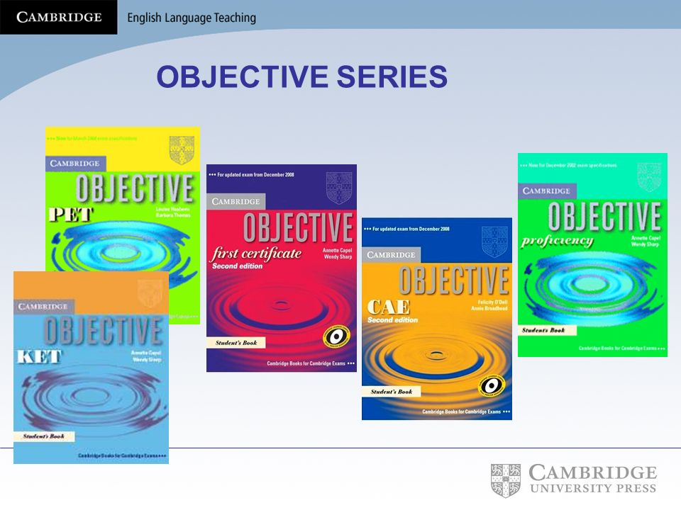 OBJECTIVE SERIES