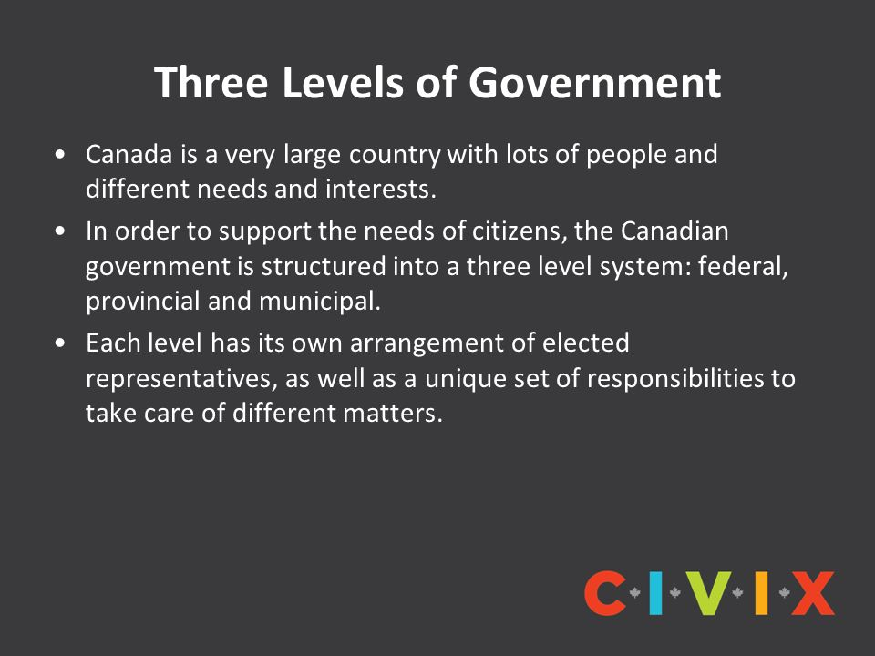Lesson 3: Three Levels of Government - ppt video online download