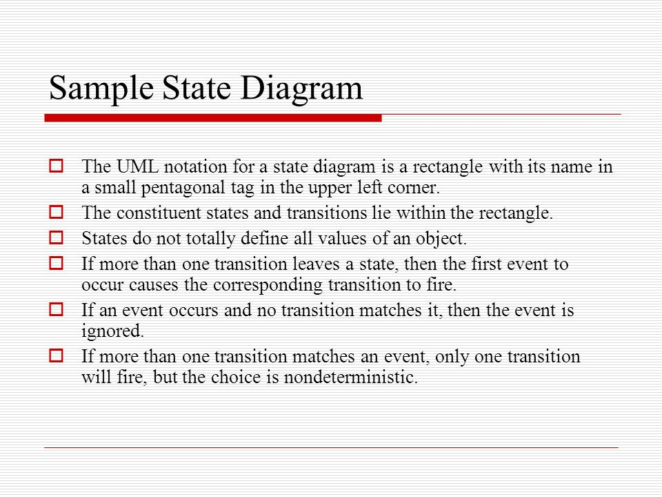 State diagrams a state diagram is a graph whose nodes are states and sample state diagram the uml notation for a state diagram is a rectangle with its name ccuart Image collections