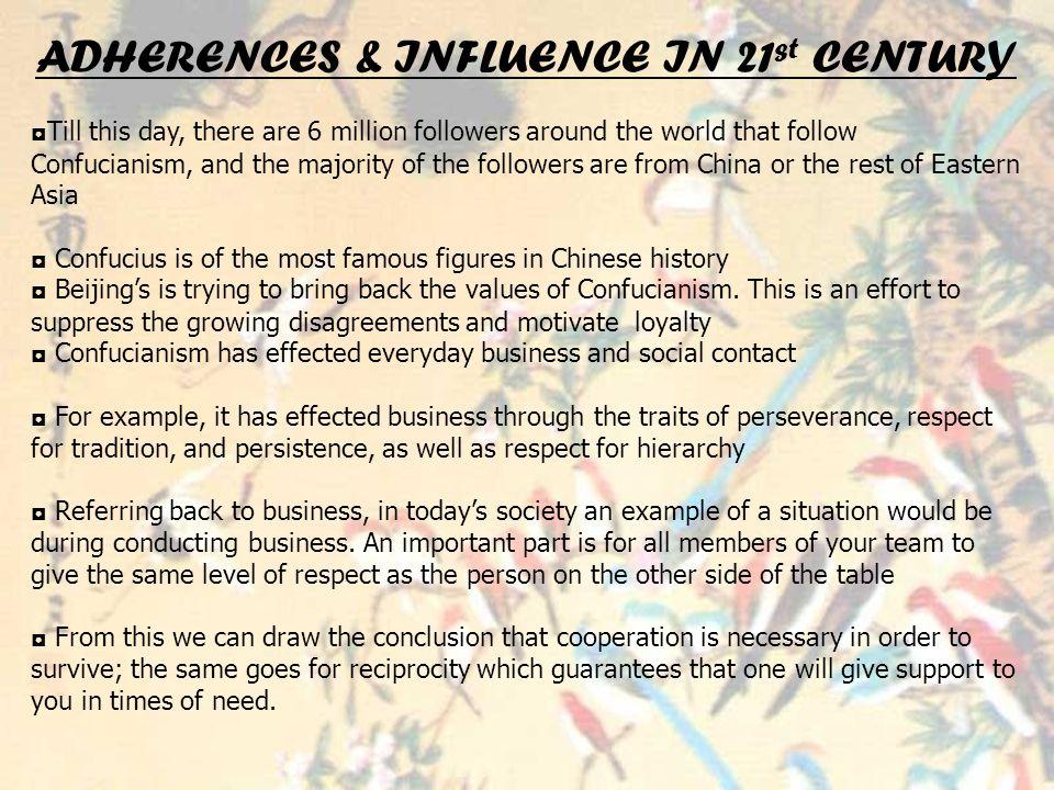 Confucianism By Sharmily Jasmine Laura Thurca Esha Anisha