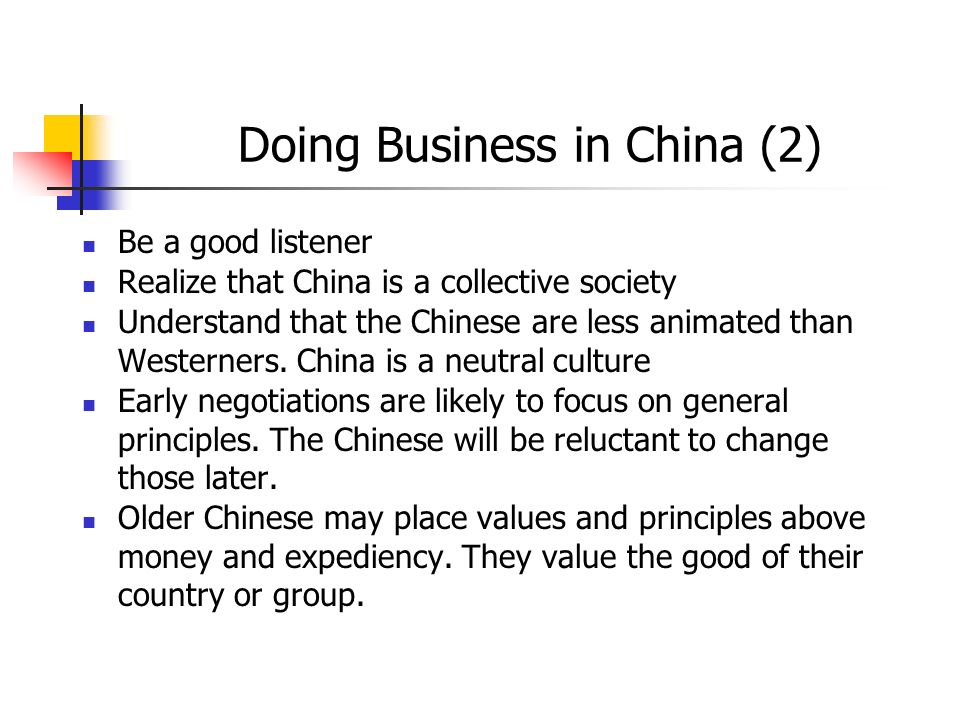 Doing Business in China (2)