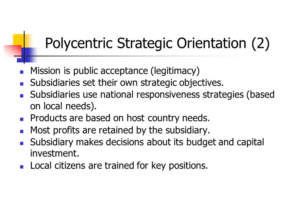 Polycentric Strategic Orientation (2)