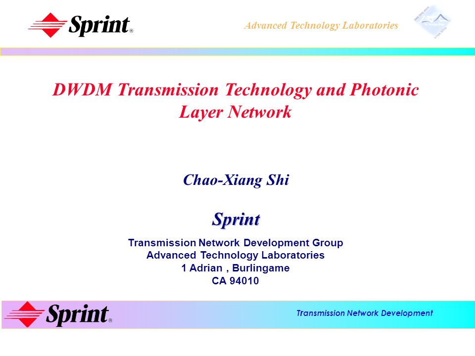 DWDM Transmission Technology and Photonic Layer Network
